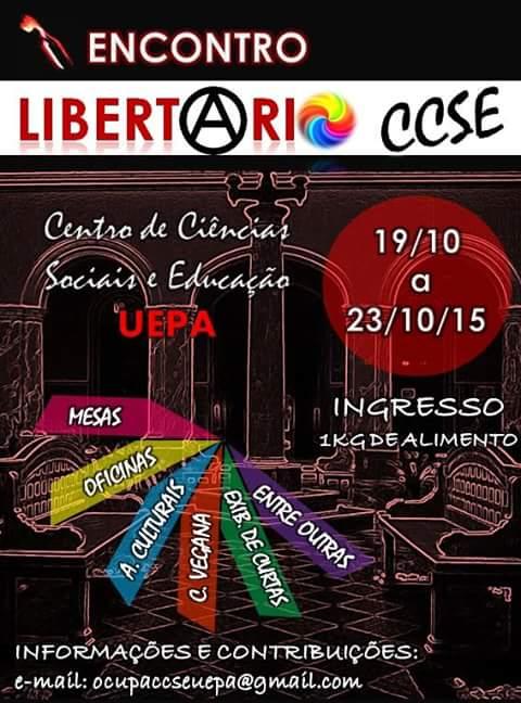 1º Encontro Libertário CSSE UEPA